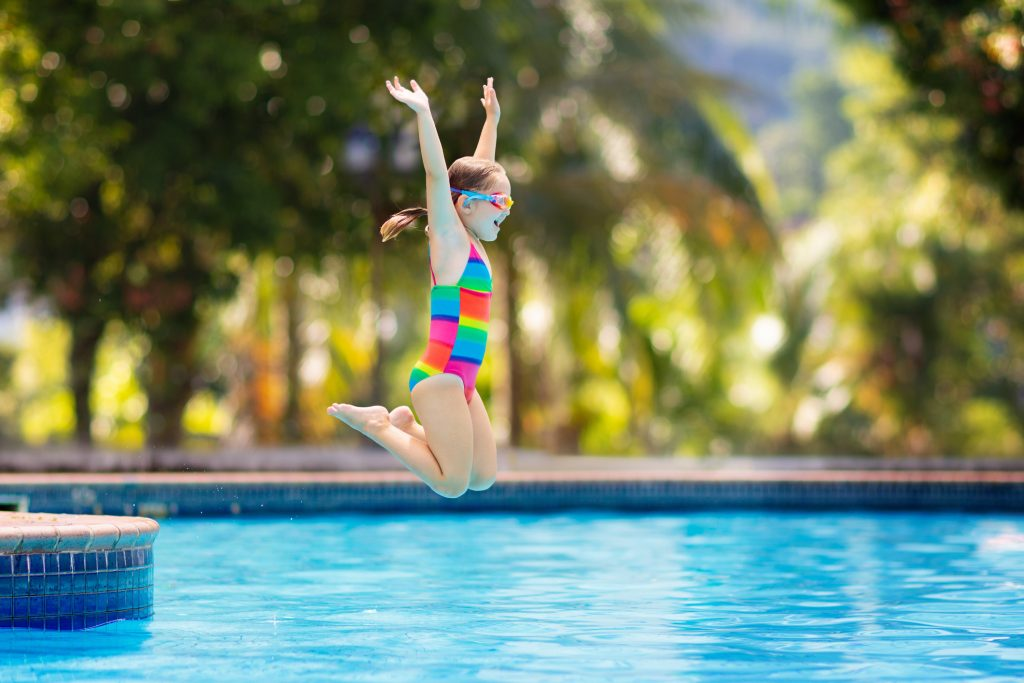 Beyond Submersion: Teaching Your Child How To Jump Into Deep Water! Register For Swim Lessons at Steve Wallen Swim School in Roseville and El Dorado Hills